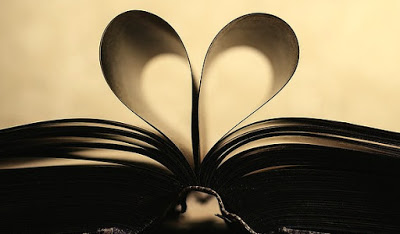 book pages making heart