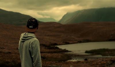 solitude alone standing boy